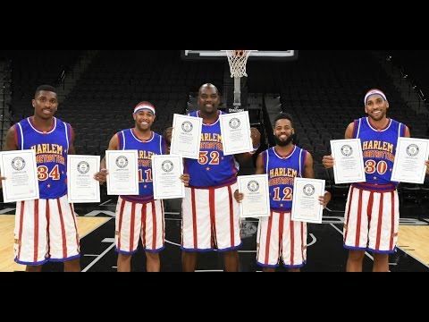 Harlem Globetrotters Set 9 Guinness World Records in 1 Day