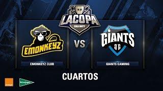 EMONKEYZ CLUB VS GIANTS GAMING - Cuartos de Final - Copa CoD - #CoDpaCuartos