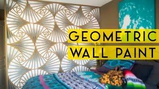 DIY Geometric Wall Paint