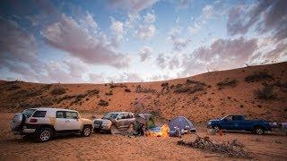 رحلة من الكويت إلى سكاكا والجوف في السعودية