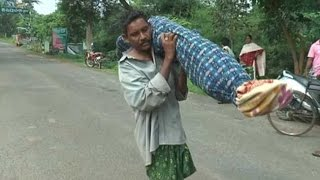 SHOCKING: Odisha Man Walks 10 Km Carrying Wife's Body