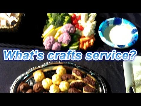 Awesome Craft Service Table! - Graceland USA network