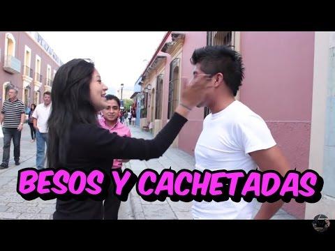 Wantu in the street Besos y Cachetadas Kisses and Slaps Bromas en la calle
