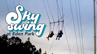 Sky Swing tandem at Eden Park