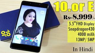 10.or E Unboxing & Overview-In Hindi