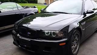 2003 BMW M3 E46 6 speed WalkAround 333 hp  black