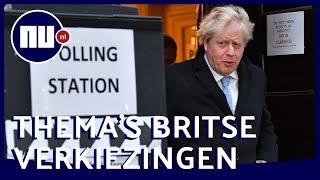 Britse verkiezingen: Dit zijn de belangrijkste thema's | NU nl
