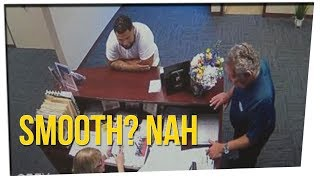 Man Stopped to Fill Job Application While Being Chased By Police! ft. Gina Darling, DavidSoComedy