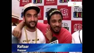 Raftaar and Fazilpuria's reaction on
