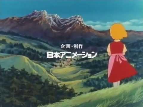 Die Kinder vom Berghof japanisches Opening Alps Monogatari Watashi no Annette