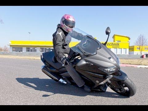Yamaha T MAX 530 Scooter Test mit K.OT
