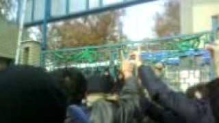 Honar Tehran University 16 Azar protest Part 56 - Bayanie daneshgahe honar.3GP
