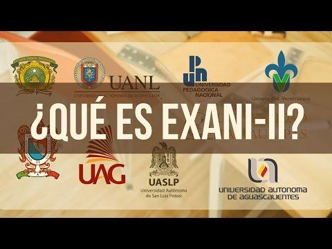 ¿Qué es Exani-II Ceneval?