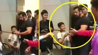 Look How Katrina Kaif IGNORES A Kid, But Salman Khan Gives Him An Autograph