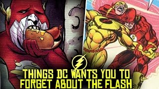 10 Things DC Wants You To FORGET About The Flash!