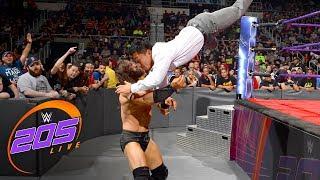 Neville interrupts Akira Tozawa