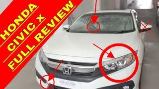 Honda Official || CIVIC X || FULL REVIEW || PAKISTAN || CAR Guru | Honey King Hk | Faisal saeed |