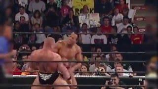 WWE Summerslam 2002   The Rock vs Brock Lesnar 720p HD