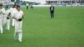 England V West Indies, 3rd test 2007, day 4, last ball