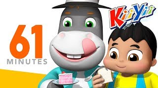 My Donkey My Donkey | Plus More Nursery Rhymes And Kids Songs | 61 Minutes Compilation from KiiYii!