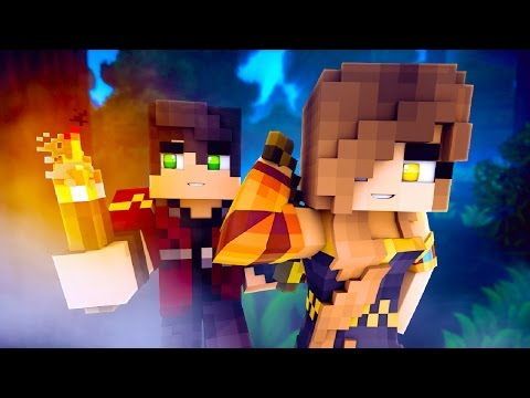 Minecraft Camping Trip - MEETING NEW FRIENDS! (Minecraft Roleplay)
