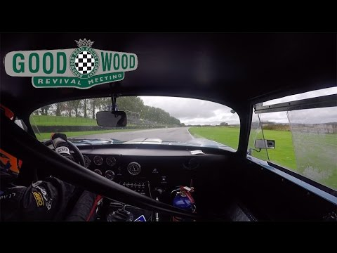 $25,000,000 Daytona Cobra wrestled round Goodwood by Nic Minassian