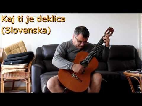Kaj Ti Je Deklica Slowenische Volksweise