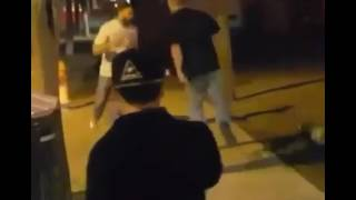 Dudes Try to jump an MMA Fighter