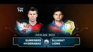 Sunrisers Hyderabad VS Gujarat Lions second qualifier highlights
