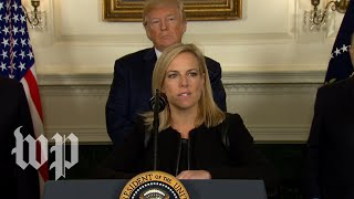 DHS Secretary: 'This is a down payment on a border wall'
