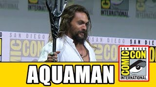 AQUAMAN's Justice League Comic Con Entrance Into Hall H