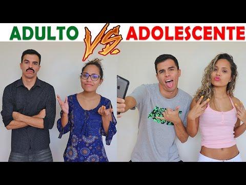 ADULTO VS ADOLESCENTE KIDS FUN