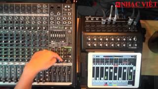 Hướng dẫn cách sử dụng Digital Mixer Mackie DL1608 và Analog Mixer Mackie ProFX V2 - Phần 1