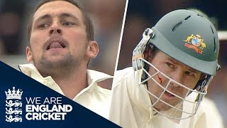 Steve Harmison's Brutal Opening Spell To Ricky Ponting: 1st Morning Of 2005 Ashes - Live Coverage