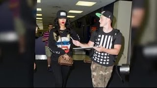 Rihanna Gets Angry at a Fan Wanting to Take a Picture | Splash News TV