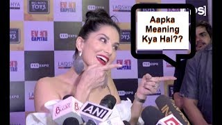 Sunny Leone TROLLS Media For Asking Her Double Meaning Question