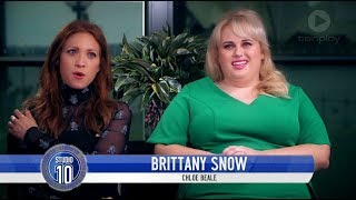 Brittany Snow, Rebel Wilson & Ruby Rose Talk