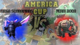 Team Boca vs Mega Scorpions -  América Cup #2