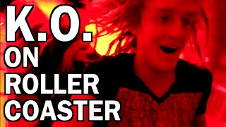 GIRL PASSES OUT ON ROLLER COASTER!?! DISNEY WORLD!!