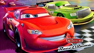 Cars Race-O-Rama Cartoon Game ALL EPISODES Video Gameplay Walkthrough