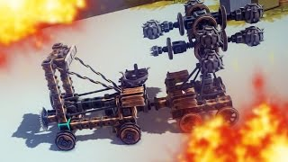 AUTOMATIC DEATH | Besiege #5