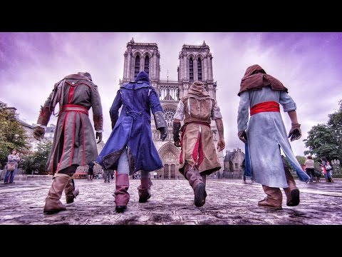 Xxx Mp4 Assassin S Creed Unity Meets Parkour In Real Life 4K 3gp Sex