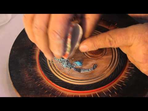 TURQUOISE Stone INLAY for Wood Projects