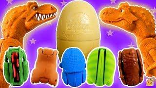 DINOSSAUROS EGG STARS E OVO DE DINOSSAURO do Jurassic Park! Minha Coleção! Tiranossauro Rex e mais