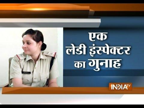 WATCH: Dabangg Woman Cop Caught Demanding for Bribe