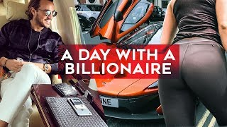 A day with a BILLIONAIRE! Join Rich Kids of Instagram's Emir Bahadir as he works out and shops!