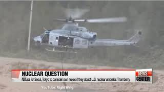 WW3 REPORT NEWS:NORTH KOREAN ATTACK WOULD BE MET WITH OVERWHELMING RESPONSE