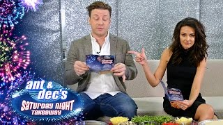 Pizza Portraits with Jamie Oliver and Michelle Keegan