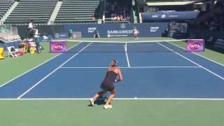 2016 Bank of the West Classic || Elitsa Kostova vs Olga Govortsova
