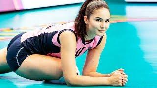 Klara Peric Beautiful Girl - Amazing Volleyball SETTER   Top SETS